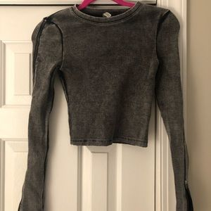 Divided by H&M Long Sleeved Crop Top